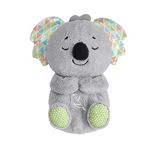 Fisher-Price Koala Hora de Dormir, juguete de cuna y peluche para bebé recién nacido (Mattel HBP87)