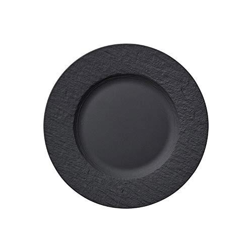 Villeroy & Boch Manufacture Rock Plato de desayuno, Porcelana Premium