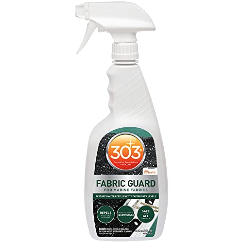 303 Marine Fabric Guard - For Marine Fabrics - Restores Lost Water Repellency To Factory New Levels - Repels Moisture And Stains, 32 fl. oz. (30604CSR)