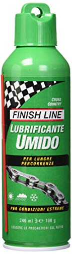 Finish Line Lubricante para cadena húmeda Cross Country, 60 ml, talla única