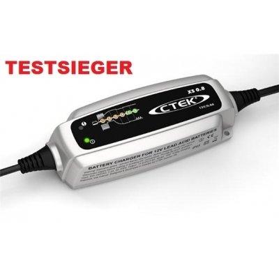 Motorrad Batterieladegerät CTEK XS 0.8 für 12 Volt Motorrad-Batterien