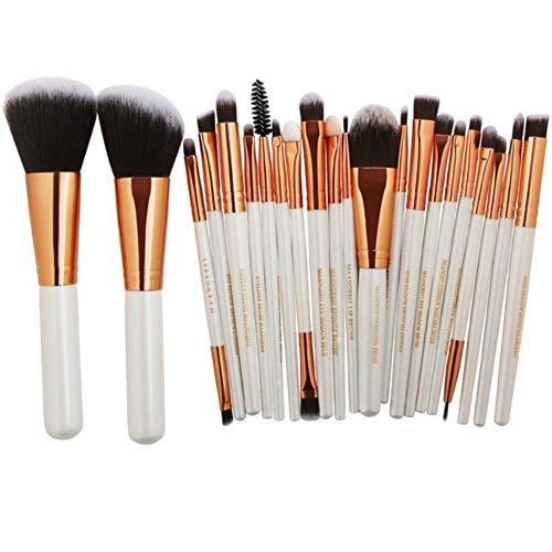 XTR Professionnel Maquillage Brosses Outils Ensemble Maquillage Brosse Outils Kits pour Fard À Paupières Eyeliner Cosmétique Brosses, 22 Pcs