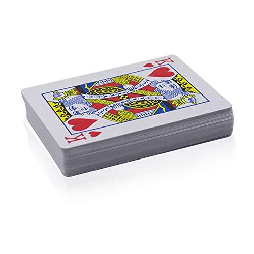 Poker Carte Giocare Adulti Regalo Semplice Trapezio Classico Trucchi di Magia Unexpected Segreto Segnate Divertente Bambini Vedere Attraverso