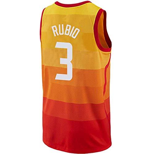 Lalagofe Sunnyio Ness Men_Ricky_#3_Rubio_Orange_City_Edition_Jersey