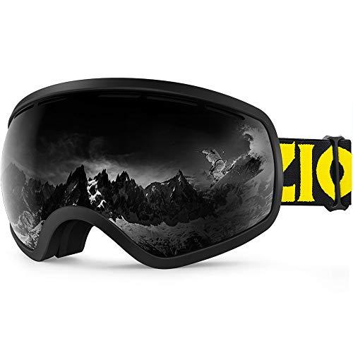 ZIONOR X10 Ski Snowboard Snow Goggles OTG