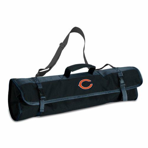 PICNIC TIME NFL Chicago Bears Grill-Werkzeugtasche, 3-teilig