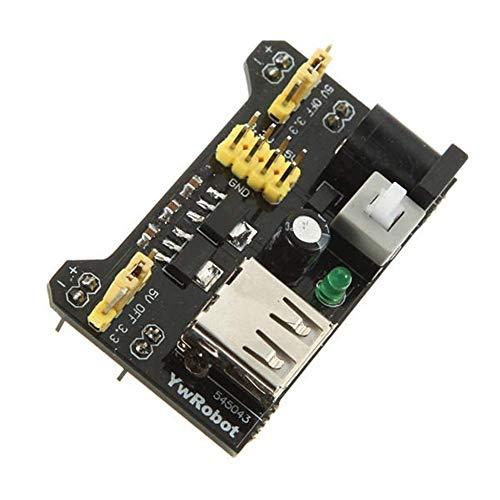 Manyao Eficiencia módulo de Fuente de alimentación Adaptador de Tablero MB102 Escudo 3.3V / 5V for ArduinoHigh Accesorios Accesorios Módulo Junta