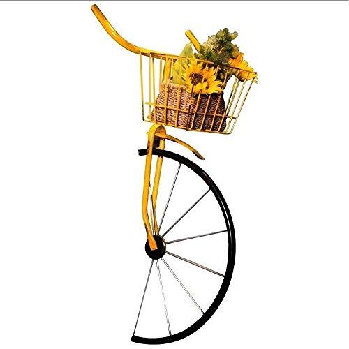 JUNJP Decoración de Pared de Hierro Forjado, Accesorios de Cabeza de Bicicleta para Colgar en Pared de Restaurante, Colgantes de Barra, adecuados para Restaurante Sala de Billar Hotel Club