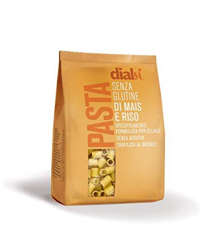 Dialsì Ditalini Pasta senza Glutine di Mais e Riso, 400 gr