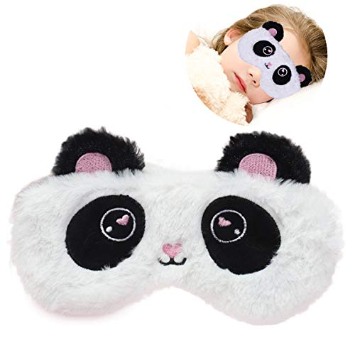 Eye Sommeil Masque en coton doux chats Bandeau Blackout Relax UK Made Sleeping Cadeau