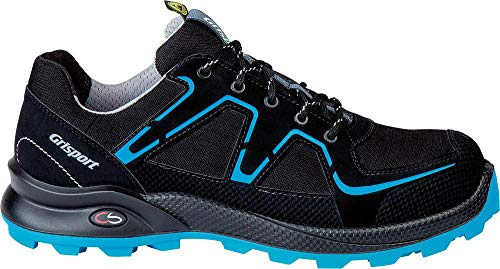 Grisport Cross Safety Enduro S3 Sicherheitsschuhe - black/blue 44 BLACK/BLUE