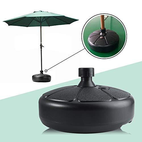 BCGT Portable Durable Outdoor Parasol Garden Umbrella Base Stand, Umbrella Stand, Umbrella Stand Outdoor Base, Outdoor Umbrella Stand, Round Patio Beach Garden Patio Umbrella Sun Shelter Accessory