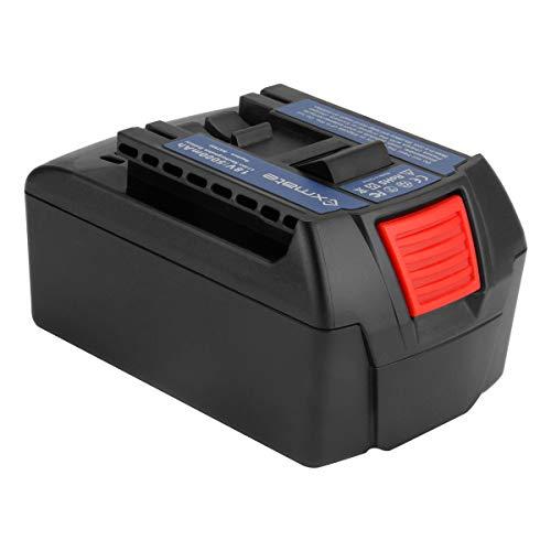 Exmate 18V 5000mAh Lithium-Ionen-Ersatzbatterie für Bosch 2607336169 2607336170 2607336236 2607336235 2607336091 2607336092 BAT609 BAT609G BAT618 BAT618G BAT619 BAT619G BAT610G