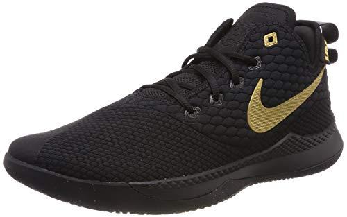 Nike Lebron Witness 3, Scarpe da Basket Uomo, Nero (Black AO4433-003), 44 EU