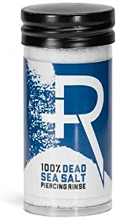 Recovery Piercing Aftercare Sea Salt From Dead Sea - All Natural, Soothing Healing Saline Solution