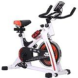 CJDM Bicicleta de Spinning, Bicicleta de Ejercicio Tipo cinturón Bicicleta de Spinning casera Bicicleta de Ejercicio de reducción de magnetrón, Gimnasio, Equipo de Ejercicio de la Empresa