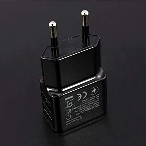 1A Adaptador de Corriente USB Dual portátil Cargador de teléfono móvil Enchufe...