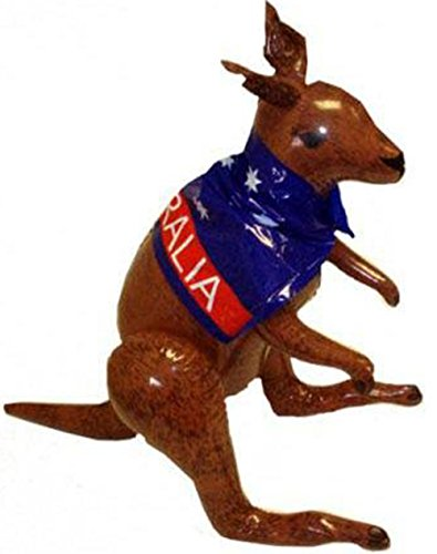 HENBRANDT Enfants Animaux & Nature Fun Party Supplies Gonflable Décor Kangaroo 70cm