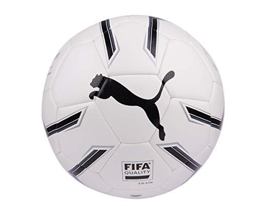 PUMA Elite 2.2 Fusion (FIFA Quality) Ball Fußball, White Black Silver, 5