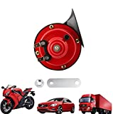 Train Horns for Trucks 300DB, Loud Air Electric Snail Horn - 12V Waterproof Cars Horns Kit Super Loud for Trucks, Cars, Motorcycle, Bikes & Boats (1 PCS)