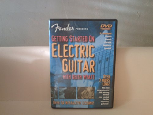 Fender Presents: Getting Started On Electric Gitar (DVD). Voor gitaar.
