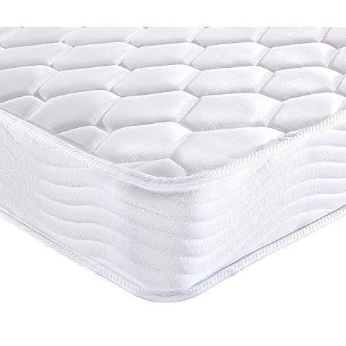 LOCHAS Luxury Single Foam and Spring Mattress 90cm x 190cm 16CM Depth with Ergonomic Design