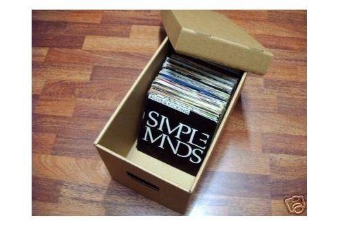 We'litee contenitore per esposizione dei dischi in vinile in cartone rigido
