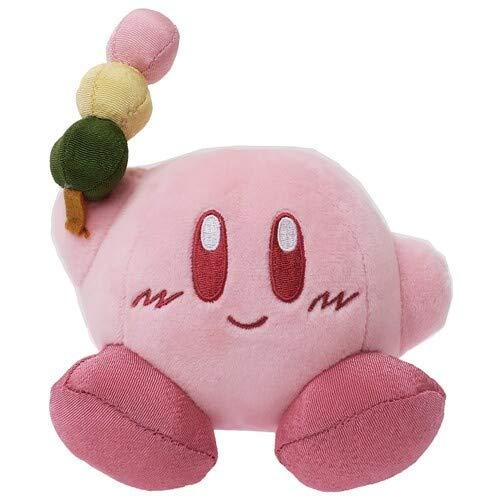 Sanei Kirby's Dream Land Weiches Plüsch, Stofftier Peluche, Japan Import (Kirby 12x10cm mit O-Dango)