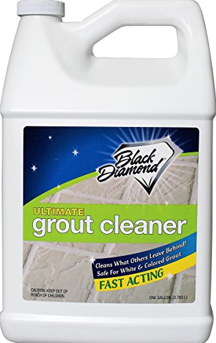 ULTIMATE GROUT CLEANER: Best Grout Cleaner For Tile and Grout Cleaning, Acid-Free Safe Deep Cleaner & Stain Remover for Even the Dirtiest Grout, Best Way to Clean Grout in Ceramic, Marble. 1-Gallon