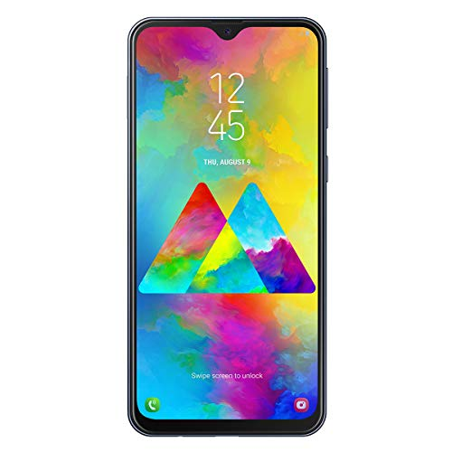 Samsung Galaxy - M20 Smartphone, FHD+ Infinity V Display 6.3, 4 GB RAM, 64 GB ROM, negro