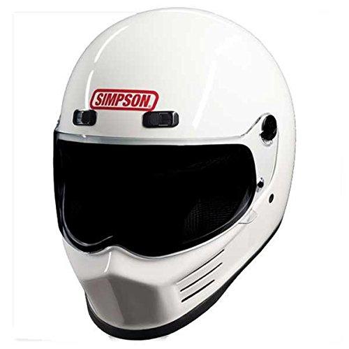 Simpson Helmet Venom Subdued F901/de 58/M Negro Mate de gris tama/ño M