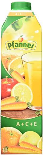 Pfanner A+C+E Mehrfruchsaft Getränk , 8er Pack (8 x 1 L)