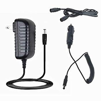 HISPD AC/DC Adapter for EverStart MAXX 1200 Peak AMPS Jump Starter with Air Compressor and Inverter Ever Start 1200A 600A Jumpstarter Box Lot 11480 Power Supply Charger Cigarette Lighter Plug