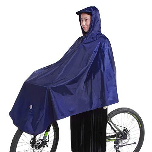 Impermeable Bicicleta Hombres Hombres Y Mujeres Poliéster A Tamaños Cómodos Prueba De Viento Espesar Poncho Motocicleta Impermeable Impermeable Portátil Festival De Turismo Tema Y Transpirable Ropa