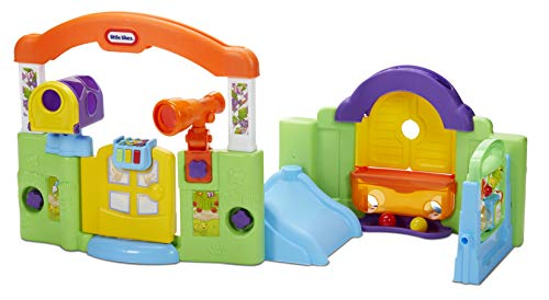 Little Tikes Activity Garden Playhouse for Babies, Infants and Toddlers - Easy Set Up Indoor Toys with Playtime Activities, Sounds, Games for Boys Girls Ages 6 Months to 3 Years