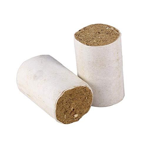 KSTE Combustible Ahumador, 54 PC abeja Fumador combustible, Solid china de hierbas medicinales humo herramienta de la colmena de la apicultura