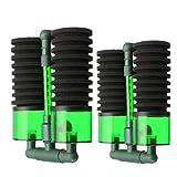 NOBRAND El Agua del Grifo Limpia Mini Pro purificador Ajuste del Filtro de Aire impulsado por la Bio-Filtro de la Esponja de plástico bioquímica for el camarón Peces de Acuario, fácil de Instalar