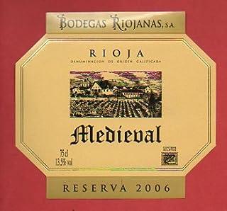 Etiqueta: MEDIEVAL. Reserva 2006.