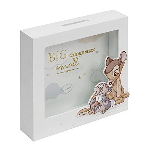 Disney Baby Magical Beginnings Spardose Bambi und Klopfer aus Holz
