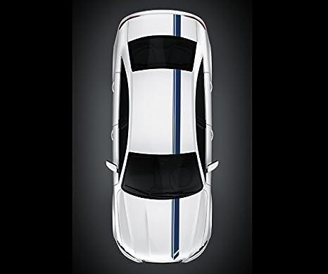 14 X 500 Cm Viperstreifen Rallystreifen Streifen Rennstreifen Auto Aufkleber Zierstreifen Tuning Dekor Viper 2n360 13 Farbe Schwarz Matt Küche Haushalt