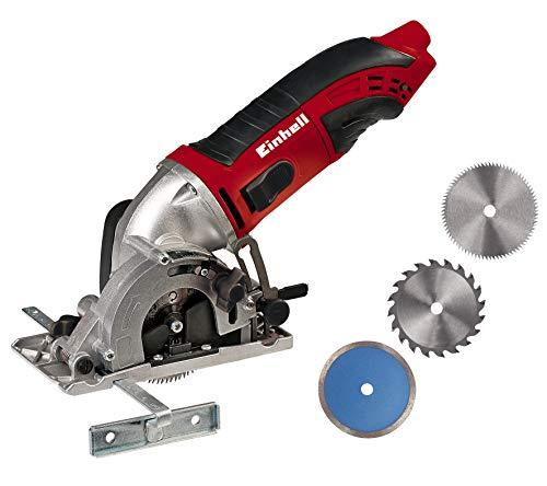 Einhell 4330992 MINI SIERRA CIRCULAR TC-CS 860 Kit, 450 W, 230 V, Con estuche
