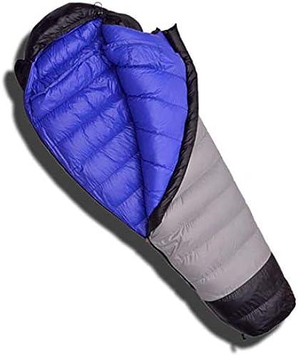 MISS&YG Daunenschlafsack für Rucks e und Camping, ultraleichte Mumien-Down-Taschen mit leichten Kompressionstaschen
