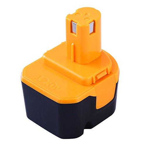 Hochstern 互換リョービ12vバッテリー B-1203M1 B-1203C B-1203F3 リョービ互換バッテリー12V 3000mAh 大容量 リヨービ バッテリー B-1203C B-1203F3 B-1203M1 BPL-1220 B-1220Fなど対応可能 Ryobi 12v バッテリー 電動工具用互換バッテリー安心