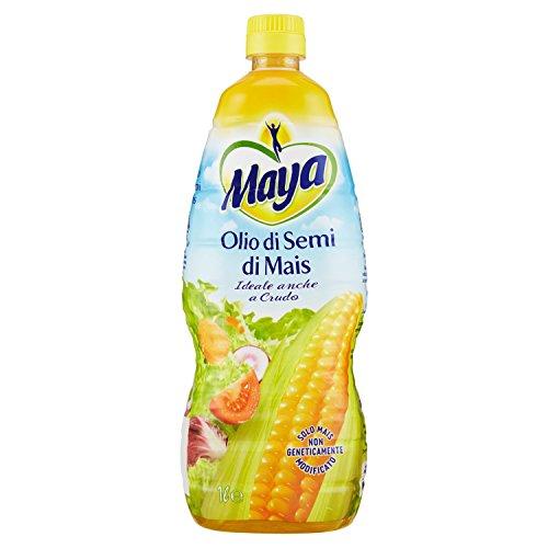 Maya Olio di Semi di Mais, Ideale Anche Crudo, 1000ml