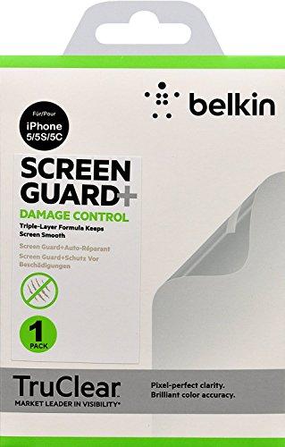Belkin Apple iPhone SE 5 / 5S / 5C True Clear Screen Protectors Damage...