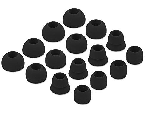 jnsa Ohrstöpsel Eargels für powerbeats3powerbeats2, 168Paar small schwarz