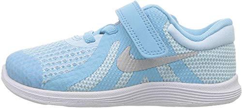Nike Revolution 4 (TDV), Pantofole Unisex-Bimbi, Multicolore (Dark Black/Cool Grey/White 005), 22 EU