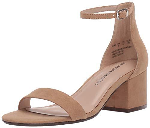 Amazon Essentials Nola Damen Heeled-sandal, Tan, 40 EU 9 B US
