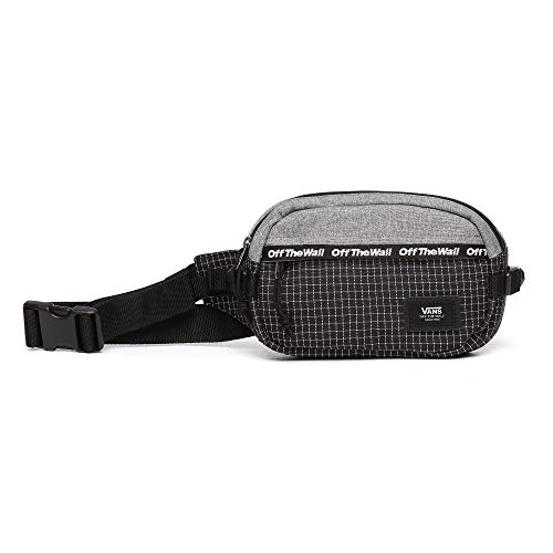 Vans Aliso II Hip Pack Heather Suiting-Black VN0A3I6CKHZ1, Talla única