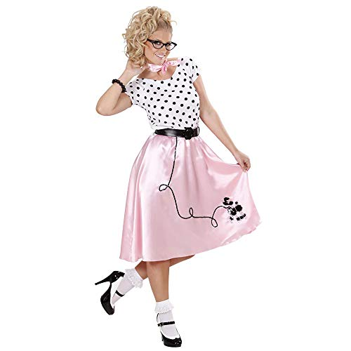 WIDMANN All4Yourparty - Disfraz de Grease para mujer, talla M (S/58442)